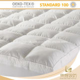 China 100% de algodão branco Colchão Qualidade acolchoados