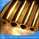 Tubo de cobre amarillo para la varia aplicación