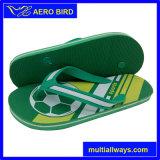 新しいデザインプリントが付いている新しい到着の人のスリッパのサンダルの靴