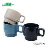 Canecas de café cerâmicas originais do projeto simples da alta qualidade quente da venda com Peronsality