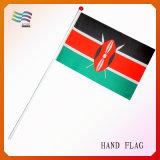Vlag van de Golf van de Hand van de Douane van de polyester de Kleine (hyhf-AF076)
