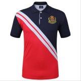 De klassieke van het Katoenen van het Ontwerp T-shirt van het Polo van de Mensen van Strechable Mengsel van Spandex Lycra Collared
