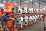Mezclador concreto diesel de la gasolina eléctrica portable CMH550 (CMH50-CMH800)