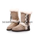 Ботинки снежка овчины зимы способа с Tassel для женщин