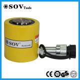 Tonelagem de alta de Ação Única Leve o cilindro hidráulico telescópico de baixo perfil