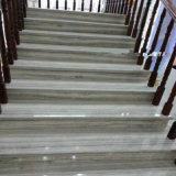 Marmo di legno di cristallo bianco usato per le mattonelle della parete e della pavimentazione