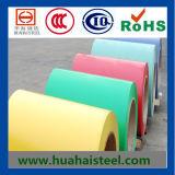 Colorir a chapa de aço da telhadura revestida
