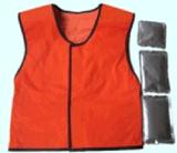 Maglia di raffreddamento materiale del cambiamento di fase del PCM per i vestiti funzionanti di sicurezza della parte esterna