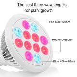 LED 플랜트는 가벼운 36W E27 LED를 증가한다 전구를 증가한다