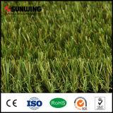 Prato inglese sintetico d'abbellimento naturale dell'erba di alta qualità