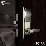 Fechamento de porta eletrônico do hotel do cartão chave
