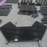 Bancada preta preta pura do mármore do granito de China do preço de grosso