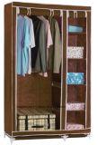 De moderne Eenvoudige Stof die van het Huishouden van de Garderobe de Eenvoudige Garderobe van de Combinatie van de Versterking van de Grootte van de Koning van de Assemblage van de Opslag van de Afdeling van de Doek (fw-43C) vouwen