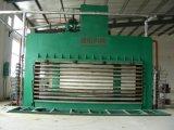 Folheado que lamina a máquina quente da imprensa, máquina quente da imprensa da máquina de madeira para a venda