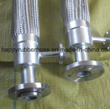 Ss flexible en métal avec les brides de flexible mâle femelle raccords serrure batteuse accouplements