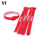 Band Van uitstekende kwaliteit van de Klitband van 100% de Kleurrijke Nylon voor de Band van de Draad/van de Kabel