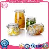 Cocina tarros de almacenamiento de la botella de cristal
