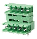 Bloco de terminais plug-in de alta qualidade Wirh 5.0mm 5.08mm Pith