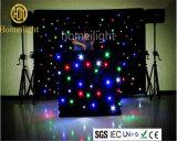 LED RGBW cortina de la estrella de fiesta