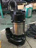 Bomba de agua sumergible (de 0,18 KW/0,25 CV) para el agua sucia