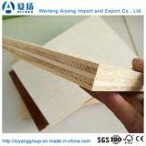 Diseño de Moda categoría E0 papel de la melamina, madera contrachapada frente