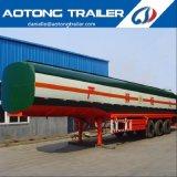 Alta calidad 45000 litros 3 del árbol de depósito de gasolina/acoplado del petrolero
