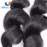 自然なカラー波の毛の拡張バージンのブラジルの人間の毛髪