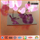 A prueba de fuego chapa de aluminio Espejo ACP con diferente color para recubrimiento de construcción Fasade Decoración de China de