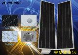 La luz de calle solar integrada en el exterior IP65 LED lámpara solar calle
