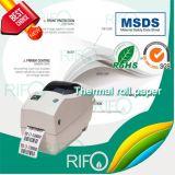 PP 슈퍼마켓 레이블 MSDS RoHS를 위한 과민한 열 코팅 종이