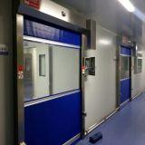 Porta de alta velocidade do obturador de rolamento da tela industrial do PVC (HF-1089)