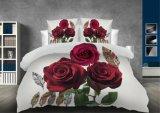 Conjuntos de roupa de cama de flores em 3D Home Produtos Têxteis Edredão cobrir define, Conjuntos de roupa de cama Queen Floral