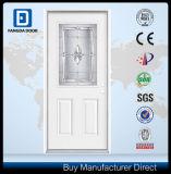 Puertas de cristal decorativas del acero de la entrada de la casa delantera de Fangda