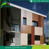 Panneau de revêtement extérieur de mur de stratifié de contrat de matériau de construction