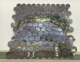 Marmo bianco del mosaico di arte della maschera delle mattonelle di mosaico