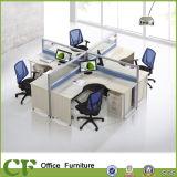 Модульная рабочая станция центра телефонного обслуживания Seater офисной мебели 5 деревянная