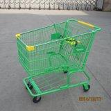 Het Winkelen van Supermarkte van de Stijl van Amerika de Stootkar van het Karretje van het Handvat