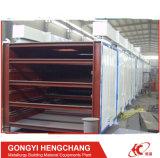 Linea di produzione del carbone di legna essiccatore della mattonella del cuscino