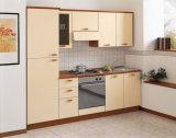 Aangepaste, Gebogen, Handloze Plywood Round Kitchen-Kasten