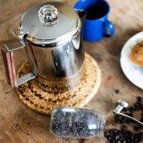 En acier inoxydable 304 percolateur café