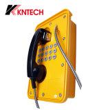 IP66 SIP El tiempo de emergencia de la prueba de la prueba de vandalismo de teléfono con auricular