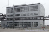 Huile de tournesol en usine de traitement de la machine