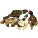 Amazon Hot Sale chien en peluche de jouets en peluche accessoire produit jouet pour animaux de compagnie d'alimentation (alimentation Squeaker Chew morsure)