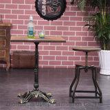 Tall American Coffee Shop réglable barre métallique ronde Présidence décontracté, Cafe bois tabouret de barre de siège