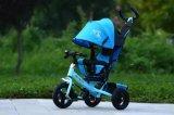 Трицикл 4 младенца Китая в 1 прогулочной коляске ягнится самокат Bike детей
