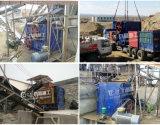 Aufbau-überschüssiger Sand, der Zeile vier Rollen-Zerkleinerungsmaschine bildet