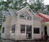 Casa ligera prefabricada superior del chalet de la estructura de acero del nuevo diseño en China