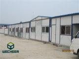 Dormitório/escritório Prefab do trabalhador da casa do painel de sanduíche do EPS para Cambodia