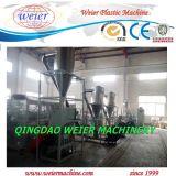 salida 250kg/Hr de la línea de granulación de la máquina de WPC