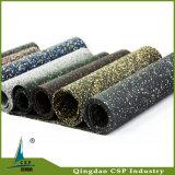 Estera de goma del suelo de los varios colores para la gimnasia Crossfit